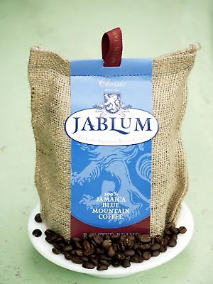 100% JAMAICA BLUE MOUNTAIN JABLUM 8oz x 10 whole beans