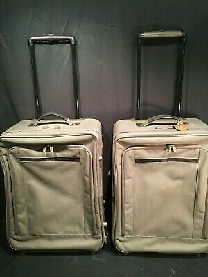 Luggage Collection Garment Bag (2- Hartmann Luggage Transit Collection Expandable His & Hers Wheels Garment Bag )