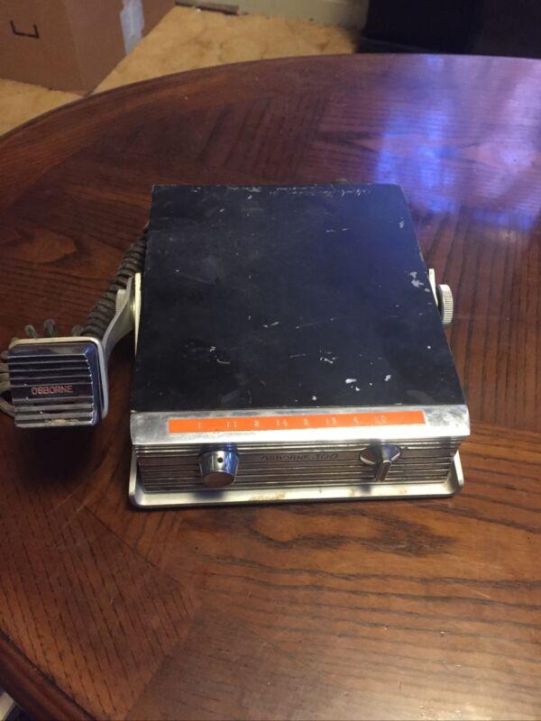 1962 OSBORNE CB RADIO  MODEL 300 Not Tested No Power Cord