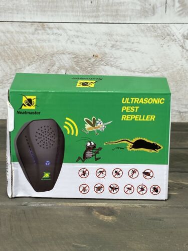 Neatmaster Ultrasonic Pest Repeller Indoor Outdoor 3 Levels