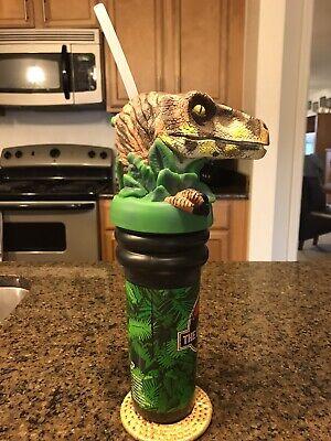 Jurassic Park- The Lost world Velociraptor cup From  Universal Studios FL '97
