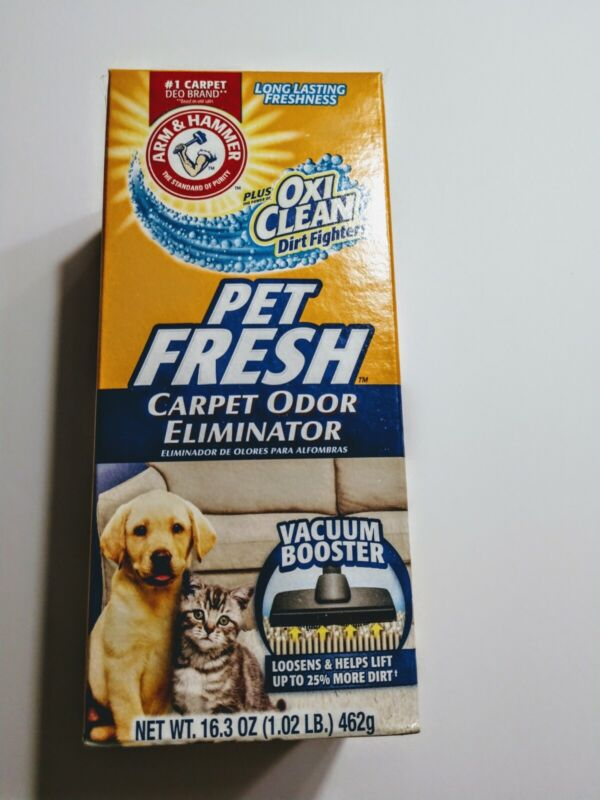 Arm & Hammer Fresh Pet  (1)  Carpet Odor Eliminator Dog Cat Cleaning 16.3 oz