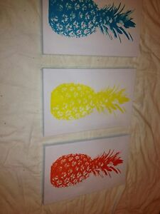 pineapple posters Medowie Port Stephens Area Preview