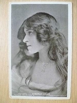 1907 Used Postcard- Theatre Actress MISS DEBORAH VOLAR