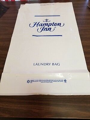 Hampton Inn Plastic 24  X 14  Room Guest Laundry Bags   1000 Bags   Closeout