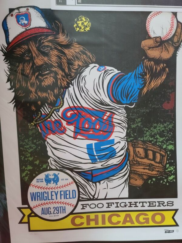 Foo Fighters,  Ames Bros , 2015 Wriggly Field