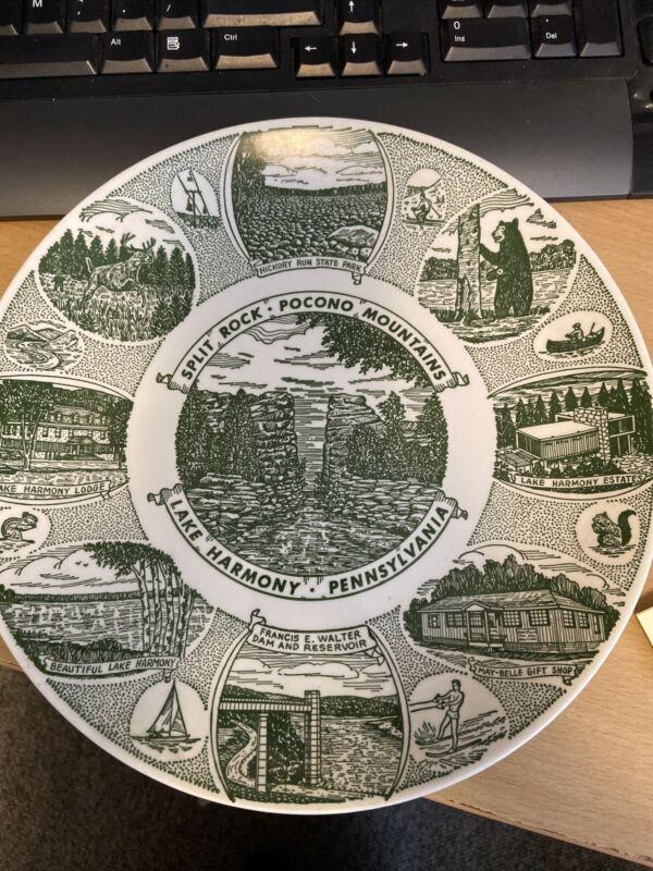 Kettlesprings Kilns Commemorative Plate Lake Harmony Pennsylvania Pocono Mnts