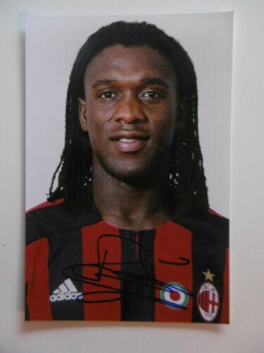 "Clarence Seedorf ""AC Milan"" Autogramm signed 10x15 cm Bild"