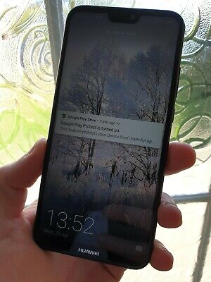 Huawei P20 Lite 64GB (EE) Smartphone - Black [Good Condition]