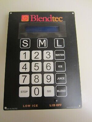 Blendtec Commercial Bdi Smoothie Blender Keypad Only