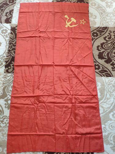 Vintage Soviet Union Flag Communism XUSSR Vintage flag 160x80 cm 1989