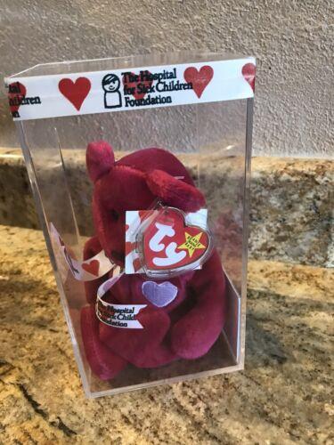 beanie baby sick kids valentino mint condition