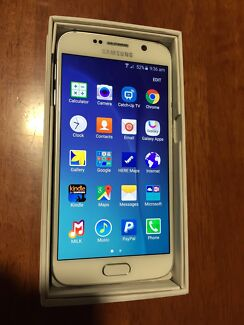 Samsung Galaxy S6 64gb Pearl White Unlocked 4G in Excellent Condition Mount Gravatt Brisbane South East Preview