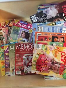 Keepsakes Memory magazine plus otherscollection
