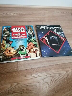 Star Wars Memorabilia The Essential Guide To Characters Plus Jedi Annual VGC