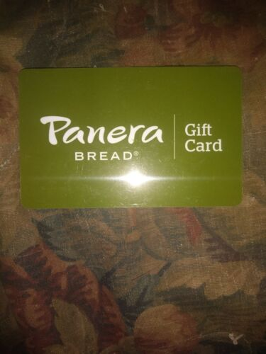 Panera Used Collectible Gift Card NO VALUE FD66495 - $1.88