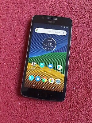Motorola Moto G5, XT1675, 16gb Smartphone - UNLOCKED (Cracked Screen & Back)