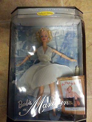 MARILYN MONROE BARBIE HOLLYWOOD LEGENDS COLLECTOR EDITION 1997 NEW IN BOX!!!!