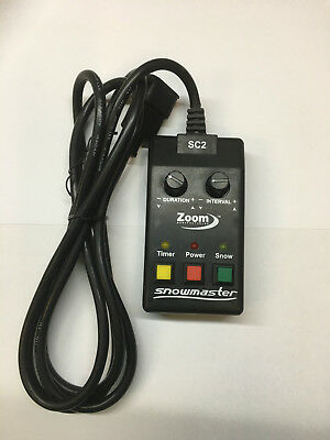 SNOW MACHINE REMOTE CONTROL FOGTEC PROLIGHT SOURCE ZOOM ANTARI CHAUVET