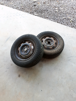 Mazda 323/Ford Laser wheels and tyres