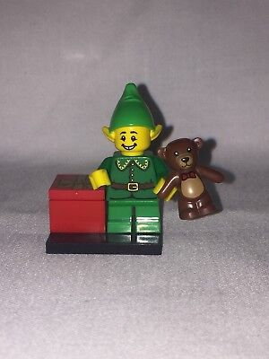 Complete LEGO MINIFIGURES SERIES 11 71002 - Holiday Elf (Christmas)