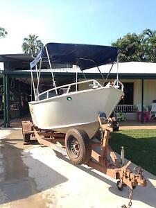 5m plate boat Suzuki 70 Wulagi Darwin City Preview