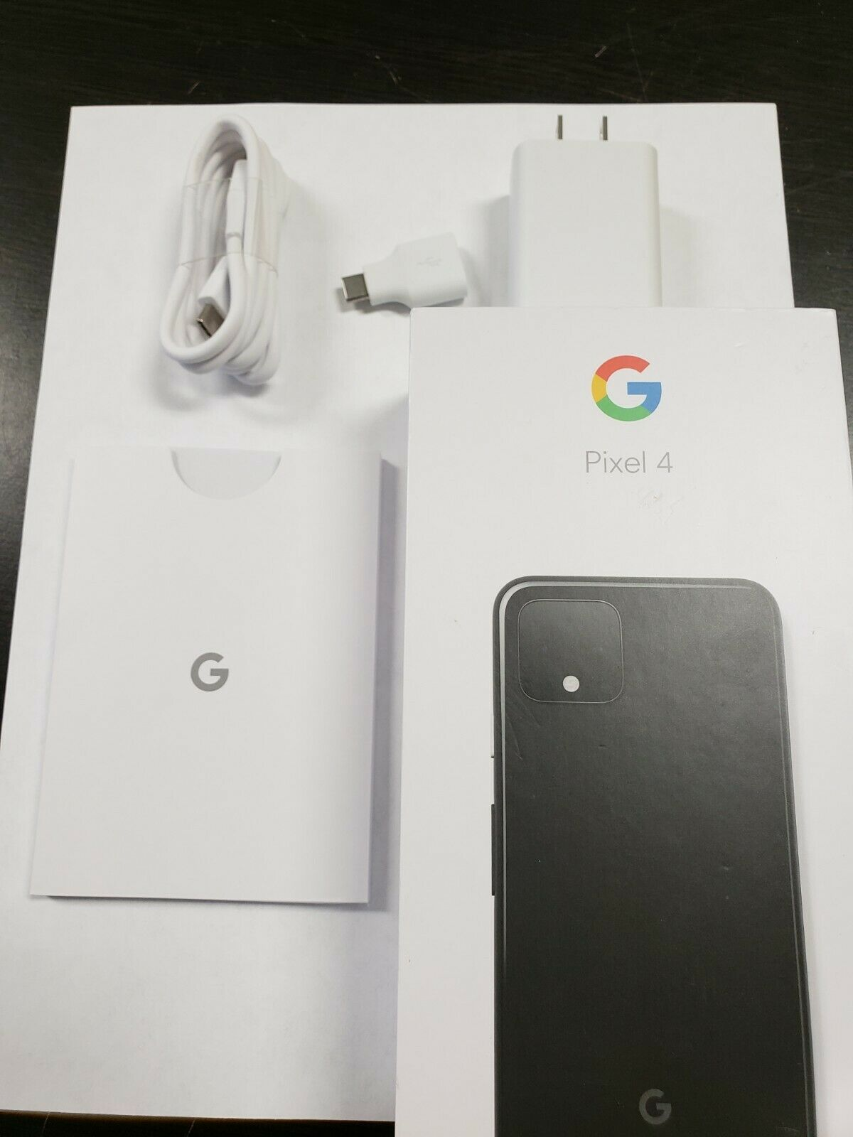 Google Pixel 4 G020I  64GB  Just Black AT&T gsm unlocked Single SIM