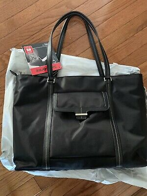 🔥 Samsonite Ultima 2 Black Nylon Twill Laptop Bag NWT - Fast Shipping