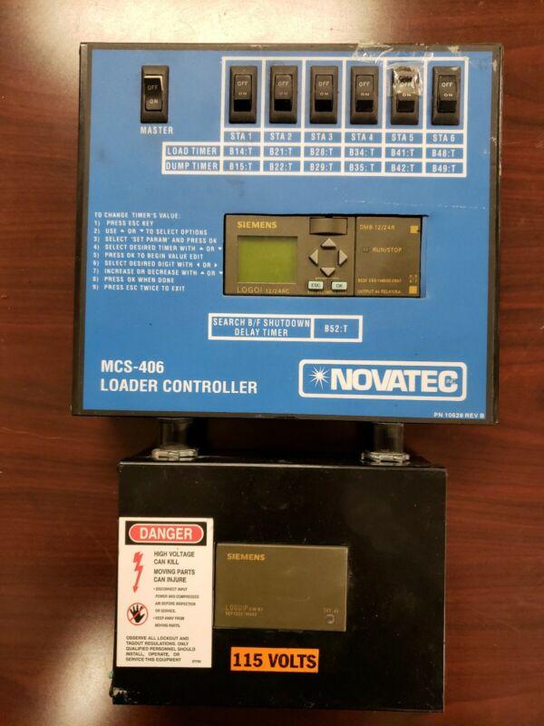 NOVATEC LOADER CONTROLLER SIEMENS POWER MCS-406 6-CHANNEL