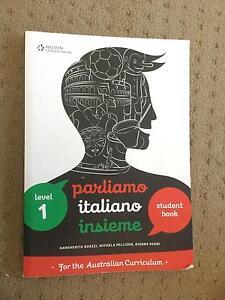 Parliamo Italiano Insieme Level 1 Student Book Ocean Reef Joondalup Area Preview