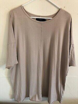 Men's Medium Knomadik by Daniel Patrick Short Sleeve Oversized T Shirt, USA Made
