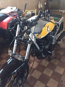 Suzuki 650 Cafe Racer