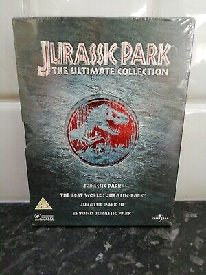 Jurassic Park Ultimate Collection 4 Disc Set