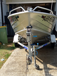 Quintrex busta 420 fishing boat Fairfield Fairfield Area Preview