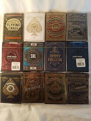 (Brick 12x) Of Rare Theory 11 playing cards including Star Wars SNL Jimmy Fallon