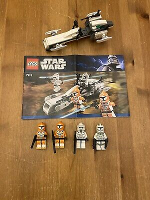 Lego Star Wars 7913 Clone Trooper Battle Pack Complete Lego Star Wars Clone