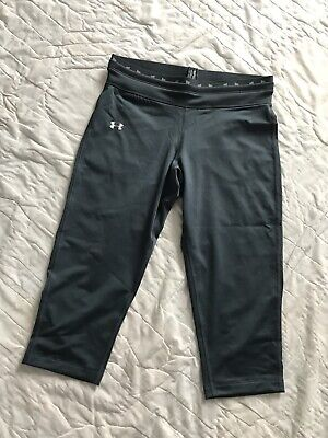 NEW Under Armour UA Form Fitted Capri Pants II Womens XS Dark Gray NWT - Form Fitted Capris