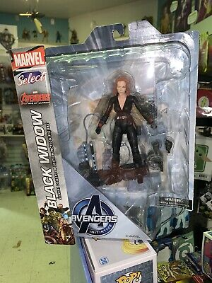 "Marvel Diamond Select Black Widow AOU Avengers 7"" Action Figure =FREE SHiPPiNG=="