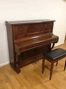 Old upright piano German brand tuned, working Good condition Haymarket Inner Sydney Preview