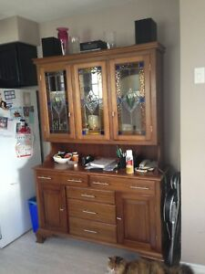 SOLD-Buffet and Hutch