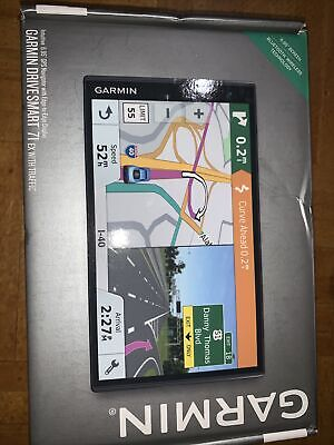 """Open NEW Garmin Drive Smart 71 EX With Traffic Mountable GPS System 6.95"""""""