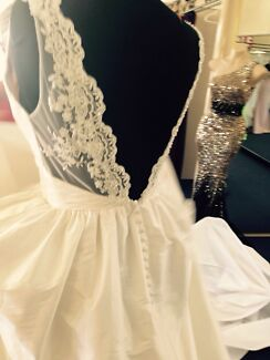 Stunning wedding dress brand new size 8-10 may fit a 12 Bayswater Bayswater Area Preview
