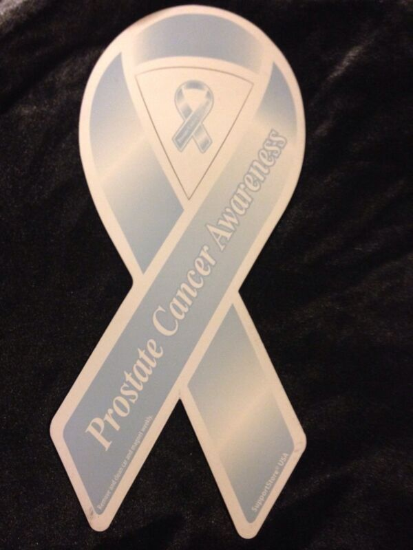 Prostate Cancer Light Blue Ribbon Magnet