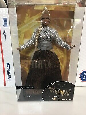 Disney Barbie Collector A Wrinkle in Time Mrs. Which Doll Kid Toy Gift Oprah!!