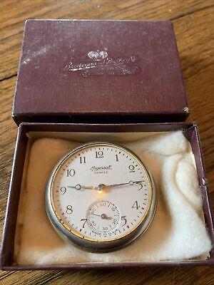 Ingersoll Yankee Pocket Watch With Omaha Neb Box