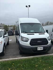 2016 ford transit 350 high top....  QUICK SALE
