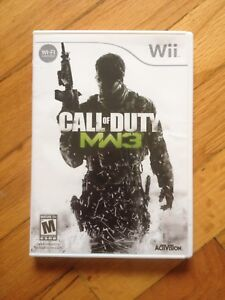 Call of duty COD MW3 for wii