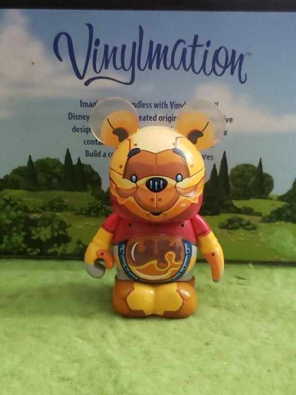 """DISNEY Vinylmation 3"""" Park Set 3 Robots Winnie the Pooh Bot"""