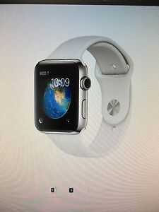 Wanted : Apple Watch. Stainless. Series 2. 42mm