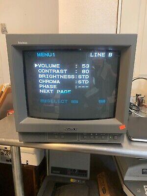 Sony PVM-14N5U Color Video Monitor